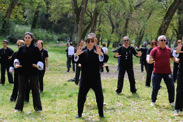Inizio della forma di tai chi